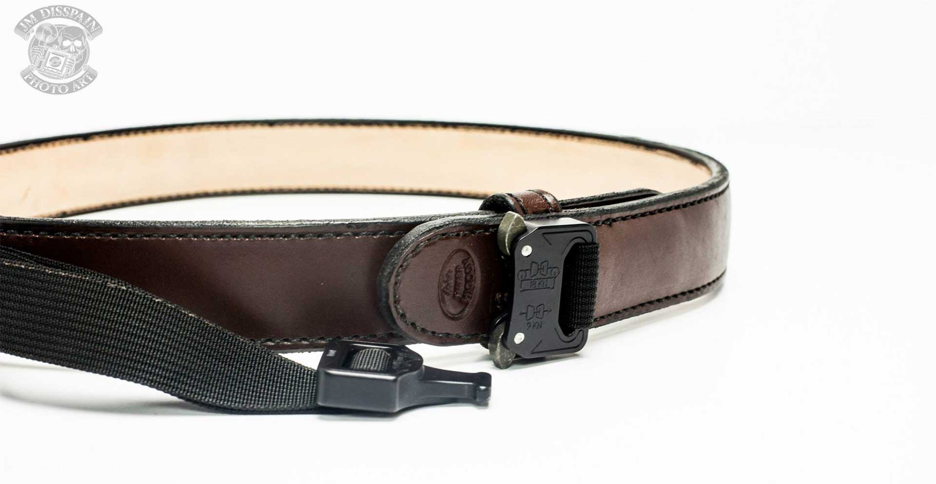 Black D Ring Belt